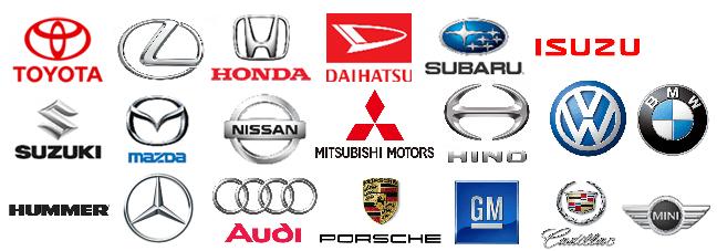 ホンダ・トヨタ・マツダ・スズキなど日本車・外車メーカー多種対応